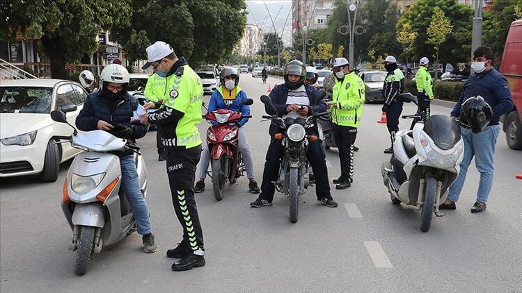 EGMden motosiklet ve motorlu bisiklet denetimi