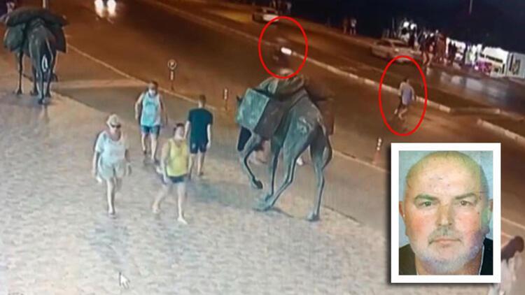 Motosikletin çarptığı Alman turist öldü