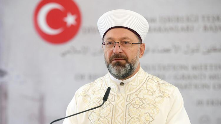 Diyanet İşleri Başkanı Ali Erbaş: Toplumu din konusunda aydınlatmak görevimiz