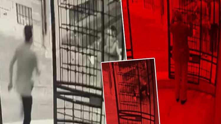 Zeytinburnunda eski eşini katletmişti Kan donduran cinayet kamerada