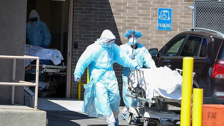 ABDde korkunç koronavirüs tablosu: Her 500 kişiden biri hayatını kaybetti