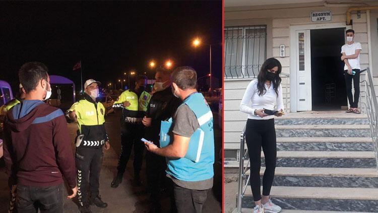 Kırıkkalede karantina kurallarını ihlal eden 2 kişiye ceza uygulandı