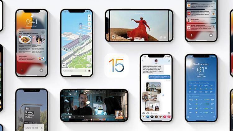 İOS 15 ne zaman çıkacak Apple İOS 15 hangi telefonlara yüklenecek İşte beklenen tarih