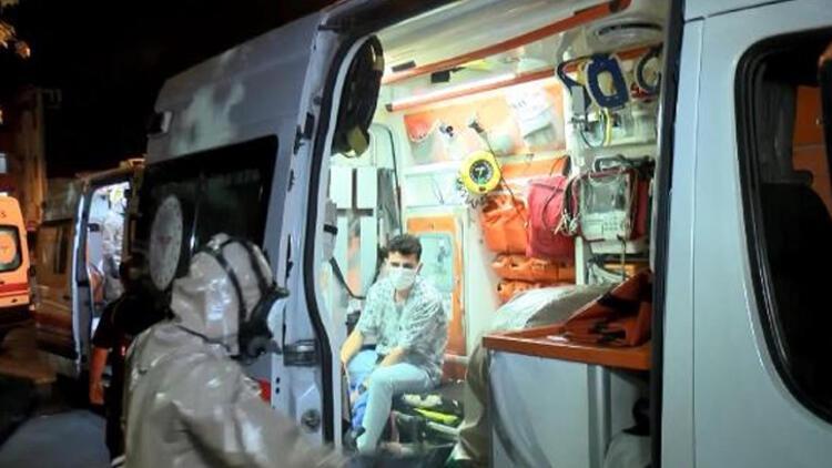 Esenlerde havuza giren 5 kişi hastaneye kaldırıldı