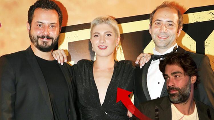 Naz Çağla Irmak ve Sarp Levendoğlu ilk kez film galasında görüntülendi