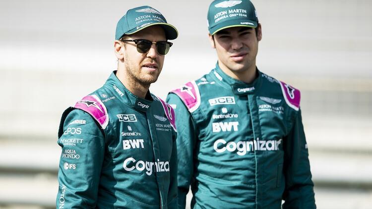Vettel ve Stroll, 2022de Aston Martinde kalacak