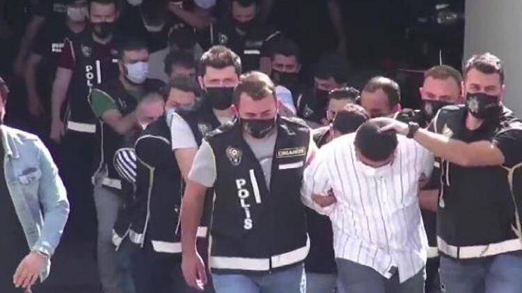 Arap Emrah Çetesine operasyon 23 kişi adliyeye sevk edildi