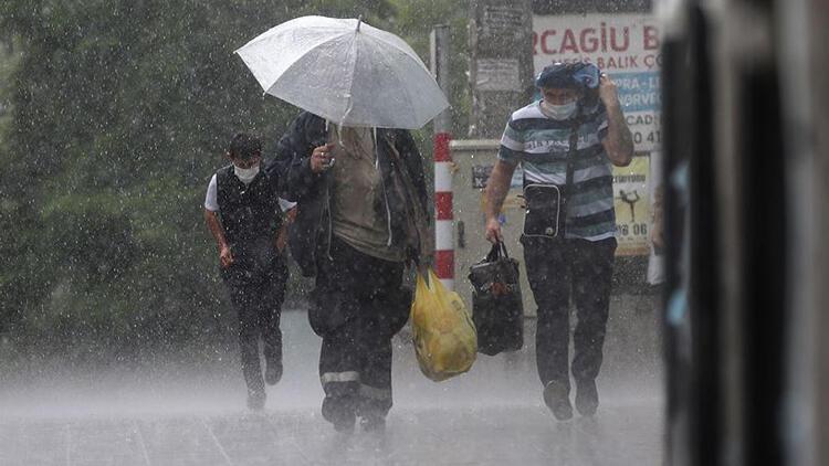 Hafta sonu planı yapanlar dikkat Meteorolojiden kuvvetli yağış uyarısı