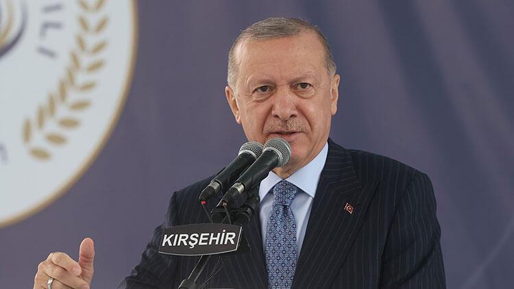Erdoğan'dan enflasyon mesajı: Fırsatçılarla mücadele edeceğiz
