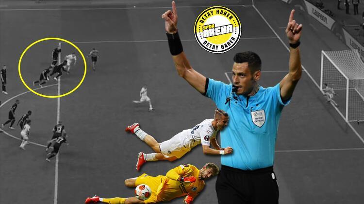 Eintracht Frankfurt - Fenerbahçe maçındaki penaltı neden tekrar edilmedi Kural kitabı ne diyor