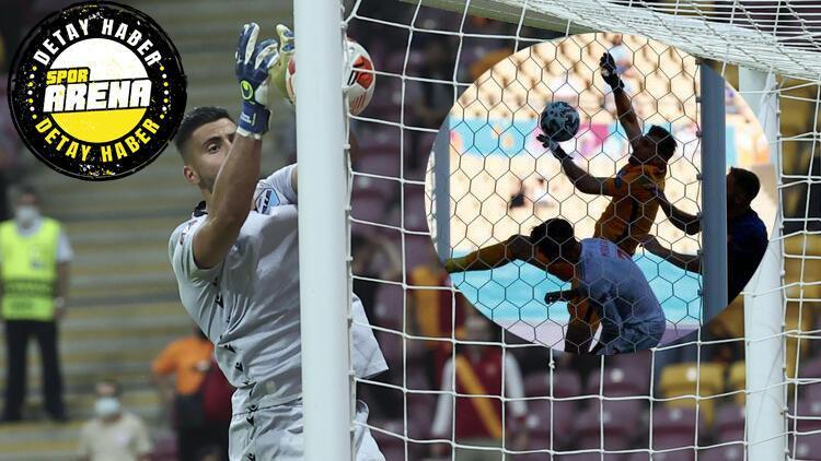Galatasaray Lazio maçında Strakoshanın büyük hatası Dubravkayı hatırlattı İ