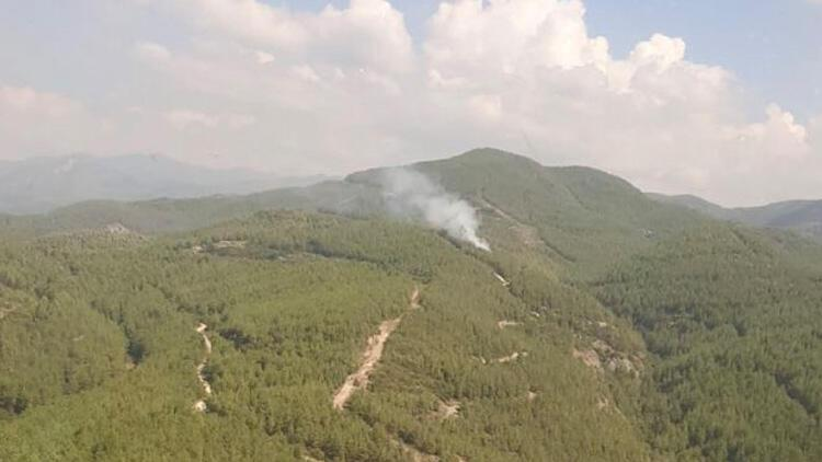 Son dakika... Osmaniyede orman yangını Havadan ve karadan müdahale