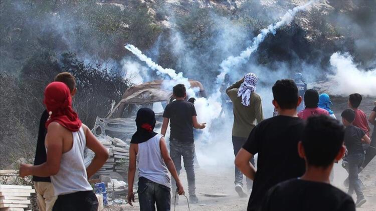 Batı Şeriada ortalık karıştı: 5 Filistinliyi yaralandı