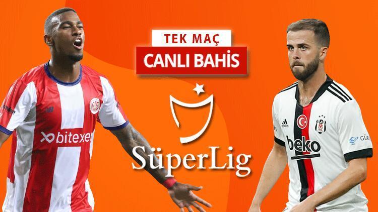 Beşiktaş 5 eksikle Antalyada Antalyaspor maçında öne çıkan iddaa tahmini...