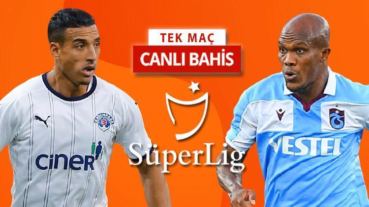 Trabzonspor, İstanbul deplasmanını seviyor Kasımpaşa maçına iddaa oynayanların %42si...