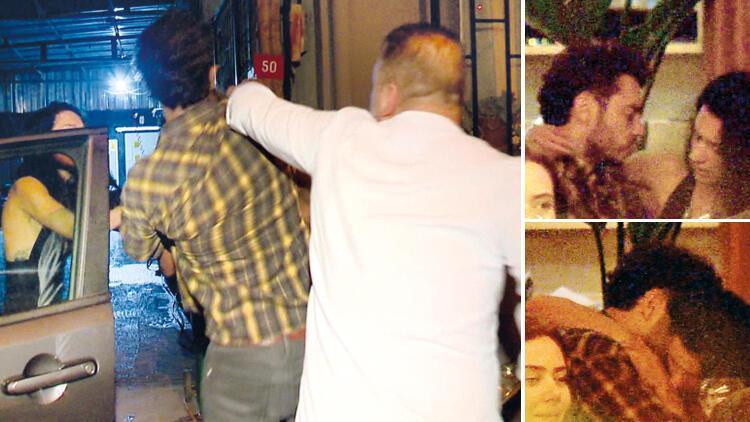 Şafak Pekdemir ile yönetmen Oğulcan Eren Akayın olaylı gecesi