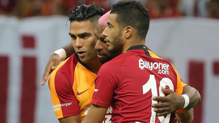 Galatasarayda Lazio sonrası ilginç tablo Belhanda ve Falcao...