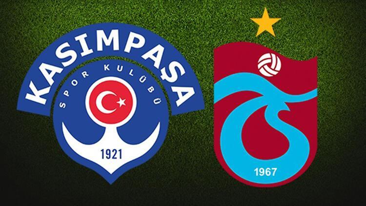 Kasımpaşa- Trabzonspor maçı ne zaman, hangi kanalda ve saat kaçta