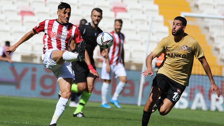 Sivasspor 1-1 Gaziantep FK (Maç özeti ve golleri)