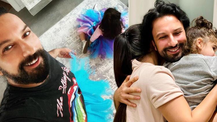 Tarkan, kızı Liya ile fotoğrafını paylaştı:  Cool baba olmaya çalışırken tütüyü giydirdiler