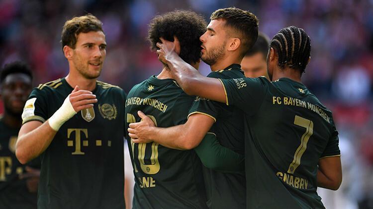 Bayern Münih rakibine acımadı Maçta 7 gol