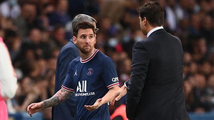 Son Dakika: Paris Saint Germainde Lionel Messi ve Mauricio Pochettino arasında gerilim Büyük şaşkınlık yaşadı...