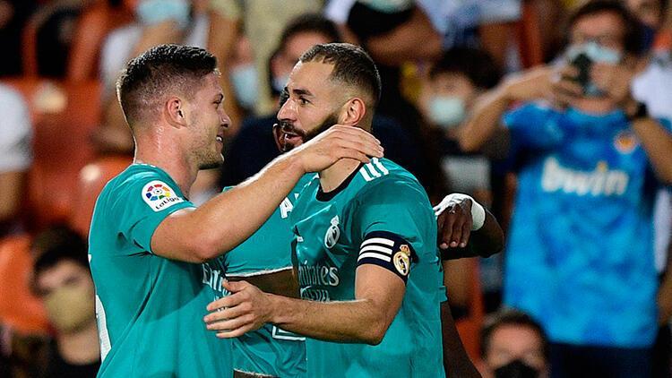 La Ligada Real Madrid, Valenciayı geriden gelip yendi