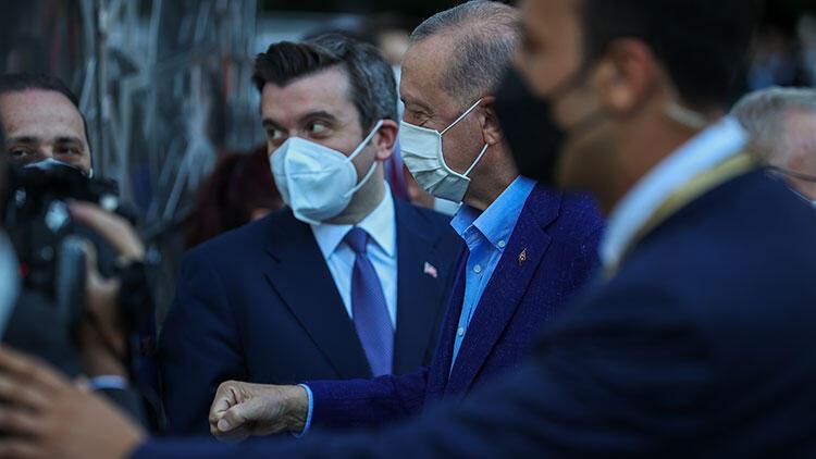 Cumhurbaşkanı Erdoğan ABDde Yeni Türkevi Binasını inceledi