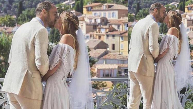Düşes Katein kardeşi James Middleton ile Alizee Thevenet evlendi: Köy düğününde kaynanasının 41 yıllık gelinliğini giydi