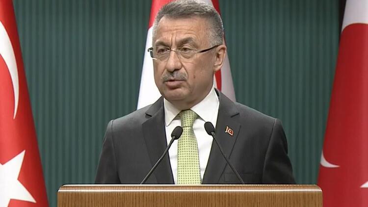 Cumhurbaşkanı Yardımcısı Fuat Oktaydan CHPli Çeviközün Mavi Vatan yorumuna tepki