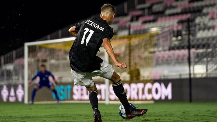 David Beckhamın oğlu Romeo, ilk profesyonel maçına çıktı