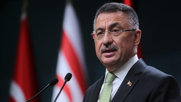 Cumhurbaşkanı Yardımcısı Fuat Oktaydan CHPli Ünal Çeviköze Mavi Vatan tepkisi