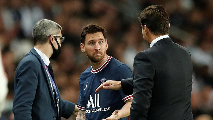 Son Dakika Haberi... Fransızlar, PSGde Lionel Messinin oyundan çıkma sebebini duyurdu Mauricio Pochettino...