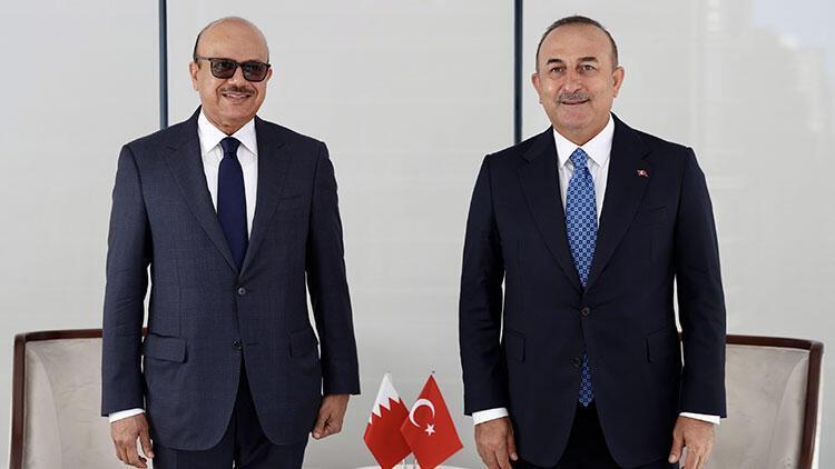 Dışişleri Bakanı Çavuşoğlu, Al Zayani ile görüştü