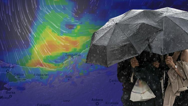 Meteorolojiden son dakika hava durumu raporu: Sarı alarm verildi Sıcaklık düşüyor, kuvvetli yağış geliyor