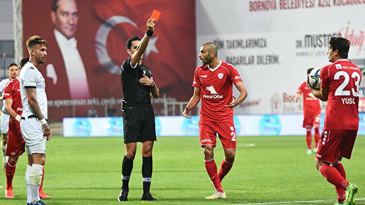 TFF 1. Ligin en hırçını Altınordu 6 maçta 4 kırmızı kart...