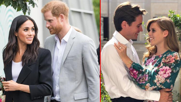Harry ile Meghanın çocuklarına yok Beatricein kızına var: Unvanıyla doğdu