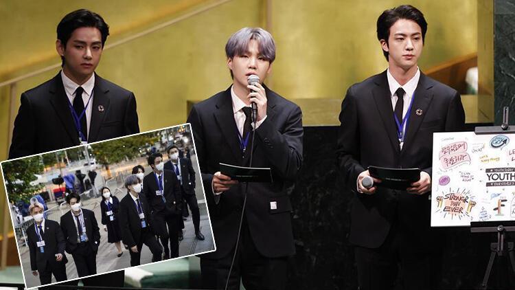 BTS geldi, BM Genel Kurulu çevrimiçi yayını 1 milyondan fazla insan tarafından izlendi