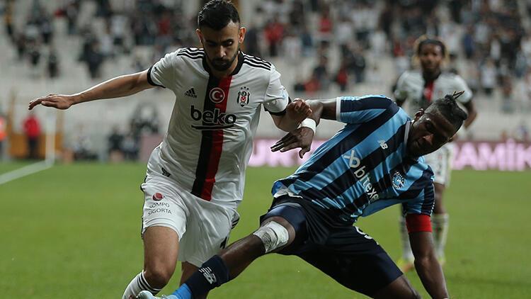 Son Dakika: Beşiktaşta Ghezzal sakatlandı Adana Demirspor maçında...