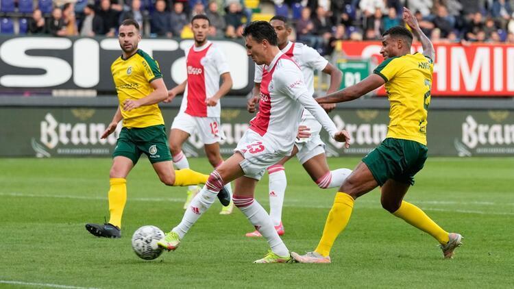 Beşiktaşın rakibi Ajaxtan 5-0lık galibiyet