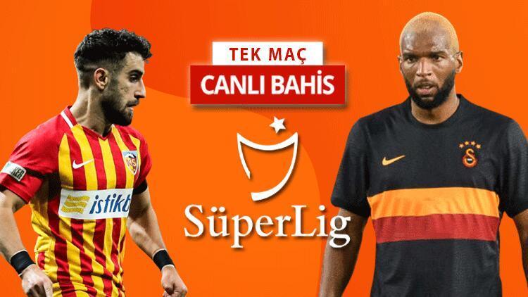 Galatasarayda Kayseri deplasmanına 7 isim götürülmedi Bu maça iddaa oynayanların %51i...