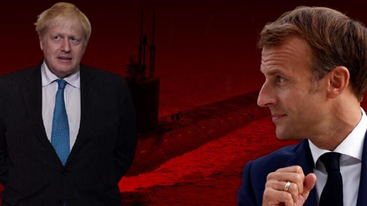 AUKUS krizi büyüyor... Eski dostlar düşman oldu: Boris Johnsondan Fransaya sert sözler