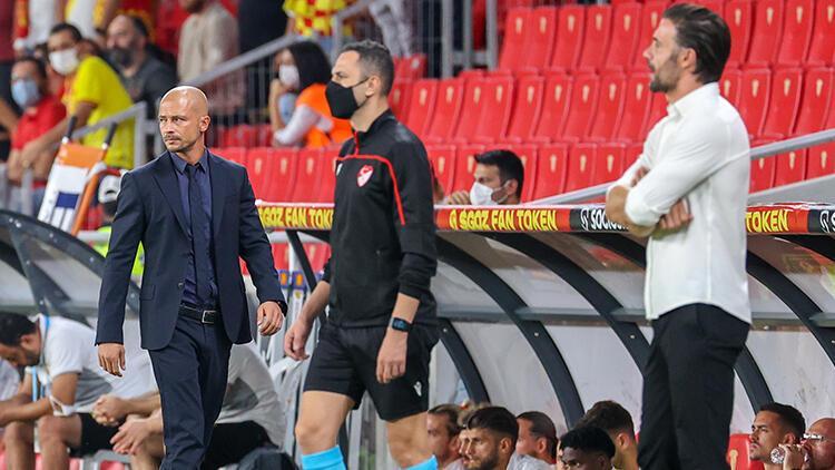 Göztepe-Hatayspor maçının ardından El Maestro ve Ömer Erdoğan açıklamalarda bulundu
