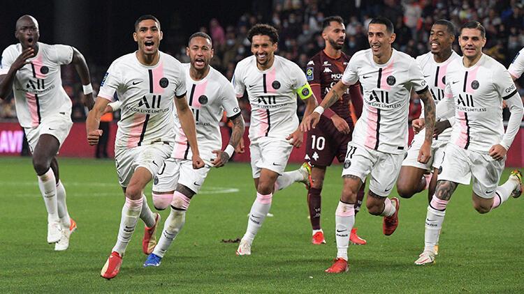 Metz 1 - 2 PSG (Maç özeti)