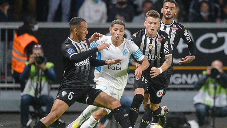 Angers 0 - 0 Marsilya (Maç özeti)