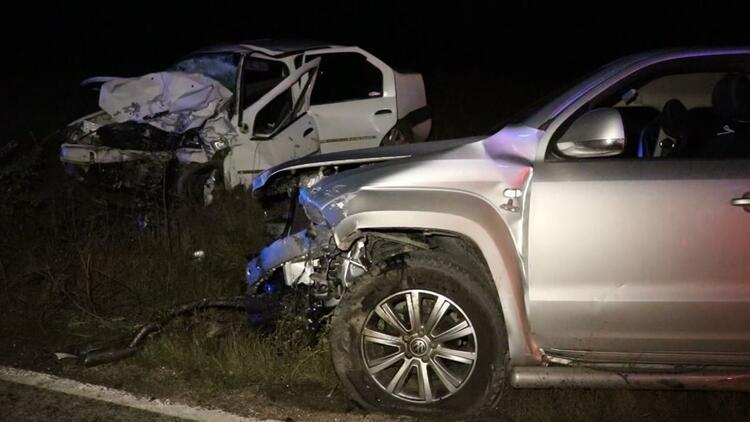 Karabükte feci kaza 2 ölü, 6 yaralı