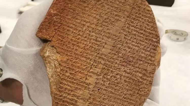 ABD, 3500 yıllık Rüya Tabletini Iraka iade ediyor