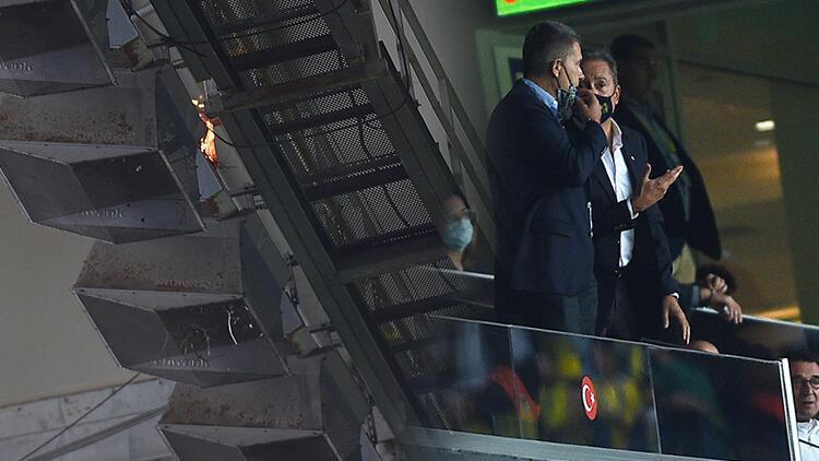 Son Dakika Haberi... Fenerbahçe-Giresunspor maçında ufak çaplı yangın Kontrol altına alındı