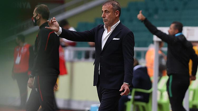 Trabzonsporda Abdullah Avcı 1 puandan memnun Zor bir kazançtı