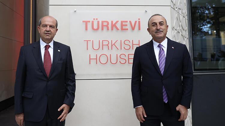 Bakan Çavuşoğlu Türkevinden dünyaya duyurdu: Kıbrısı sonuna kadar savunmaya devam edeceğiz